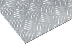 Chequered plate, alum. 4/5.5x1500x3000